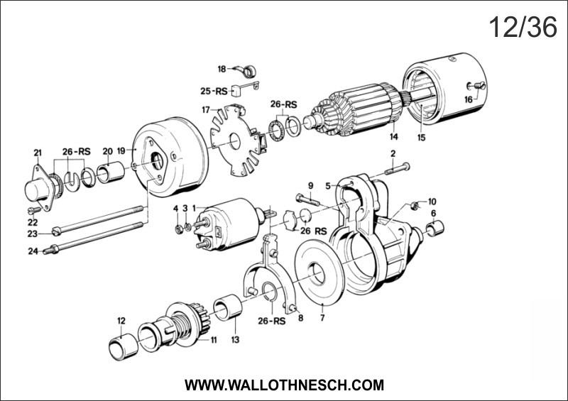 Car Bearings Diagram : Car alternator bearing engine diagram and wiring