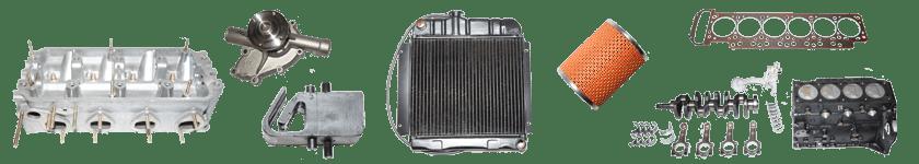 Motorteile / Kühlung